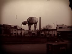 Imperial AT-AT Walker en Parque Patricios