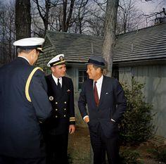 1962. 22 Avril. JFK, Camp David