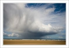 Wonderful clouds on the sea, viewed from Donwhill strand, county Derry.