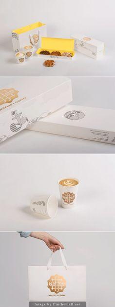 Belgian waffle and coffee