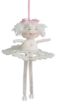 Mobile angel. Christmas/ Nativity toy. Handmade. 100% wool. 20 cm.