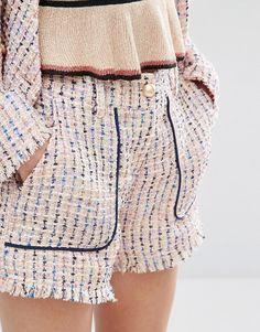 Sister Jane Mod Squad Tweed Shorts Co-Ord
