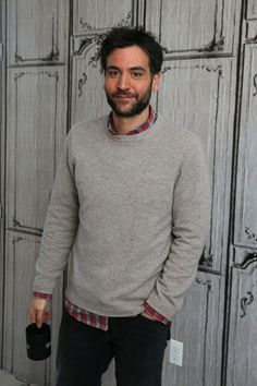 Actor Josh Radnor attends the AOL Build Speaker Series and discusses 'Mercy Street' at AOL Studios In New York on January 19, 2016 in New York City.