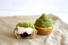 Matcha and Marionberry Mont Blanc — Brooklyn - Portland