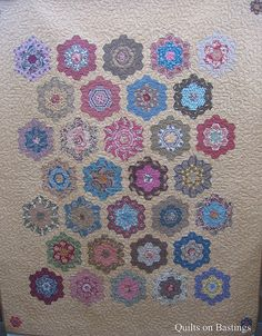 Grandmother's Flower Garden Quilt - love this!