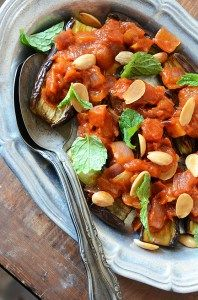 Eggplant & Tomato, Greek Style