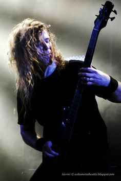 Alex Webster. Cannibal Corpse