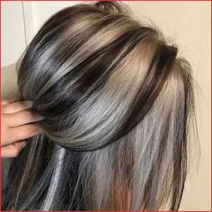 45 Top and Trending Hair Color Inspirations for This Winter - Hair - Hair Color Grey Hair Dye, Dyed Hair, Grey Brown Hair, Brown Blonde, Ombre Hair, Hair Color And Cut, Cool Hair Color, Hair Colors For Fall, Hair Dye Colors