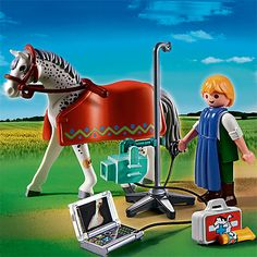 Buy Playmobil City Life Horse With X-Ray Technician Online at johnlewis.com