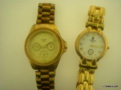 Lot Of 2 Men's Watches ELGIN & GIVENCHY PARIS Free Shipping