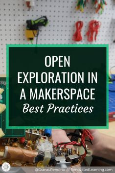 Open Exploration in a Makerspace: Best Practices // Open exploration time allows students to pursue projects and ideas that interest them. Here's some best practices. Social Studies Notebook, Teaching Social Studies, Teaching History, History Education, School Librarian, I School, School Stuff, Interactive Activities, Interactive Notebooks