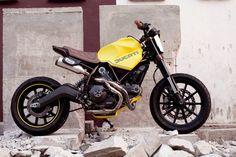 "Ducati Scrambler Street Tracker ""Dirty Fellow"" by Beautiful Machines #motorcycles #streettracker #motos   caferacerpasion.com"