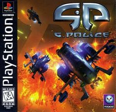 Old school video games: G-POLICE. Repin if you remember!