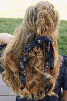 Dutch Braid Tutorial #blondehair #longhair #wavyhair #braids ❤️ Dutch braids are among the most sophisticated long hairstyles. Now let's discover amazing looks with Dutch braids we have picked for your inspiration.  ❤️ See more: http://lovehairstyles.com/dutch-braid/ #lovehairstyles #hair #hairstyles #haircuts