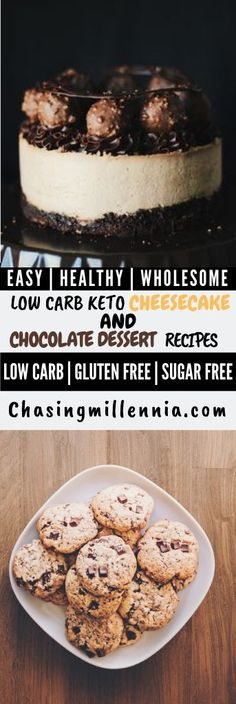 Here are some of the best keto desserts that you will ever stumble upon.  These recipes are easy, low carb and awesome fat bombs.  Most of these recipes consist of cream cheese, peanut butter, coconut flour, almond flour and you will find recipes here for cheese cakes, chocolate chip cookies and so much more.  All of the food listed here use stevia and are absolutely grain free and diabetic friendly.  #ketoweightloss  #ketolife  #ketolifestyle Sugarfree Cheesecake Recipes, Sugar Free Cheesecake, Low Carb Cheesecake Recipe, Sugar Free Desserts, Dessert Recipes, Lemon Cheesecake, Ketogenic Desserts, Keto Friendly Desserts, Diabetic Friendly
