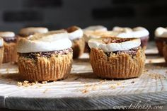 S'mores Brownie Cups.