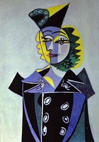 1896 Pablo Picasso (Spanish artist, 1881–1973) Portrait of the Artist's Mother.   Pablo Picasso, one of the dominant & most influential ...