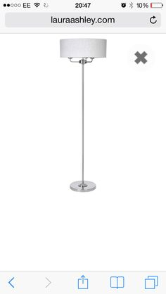 Sorrento floor lamp Laura Ashley