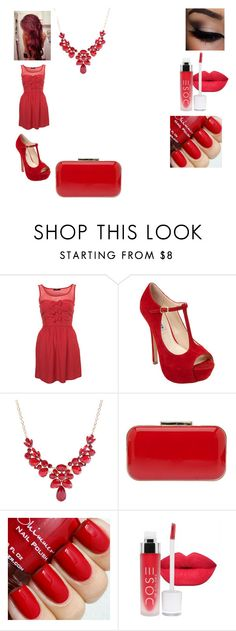 """Senza titolo #465"" by cavallaro ❤ liked on Polyvore featuring Steve Madden, Elie Saab, women's clothing, women, female, woman, misses and juniors"