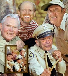Mayberry, gone, all but Ron Howard.
