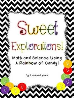 This pack is sure to keep your students engaged! They'll practice many math skills and conduct a simple science experiment. Just add Skittles!