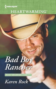 I'm thrilled to share that BAD BOY RANCHER, (Rocky Mountain Cowboys Book Three) is out today! If you liked SILVER LININGS PLAYBOOK and AS GOOD AS IT GETS, you'll love this unconventional love story between two lost souls whose bond helps them find themselves and true love.  Grab your copy at: Amazon: https://www.amazon.com/Bad-Rancher-Rocky-Mountain-Cowboys/dp/1335633596  Barnes and Nobles: https://www.barnesandnoble.com/w/bad-boy-rancher-karen-rock/1127026481?ean=9781335633590