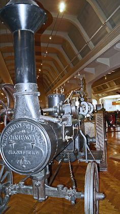 Aultman Taylor Steam Engine, built in Mansfield, Ohio