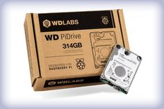 Meet the 314GB PiDrive - Raspberry Pi It comes in a lovely box that reminds you what it's good for