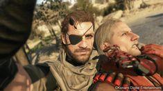 Metal Gear Online: Snake selfie !