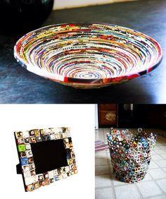 Cadeau Creatief met papier (papierschaal)