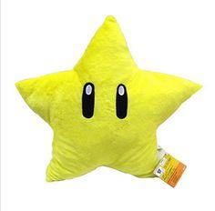 New Soft Super Mario plush toys Soft kawaii Stuffed Plush Animals Yellow Stars Cushion For Kids Birthday Gift 30cm on Aliexpress.com   Alibaba Group