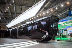 WC 2018 preparations in Russia: Moscow is getting these new, ridiculously good looking, hybrid trams - Imgur