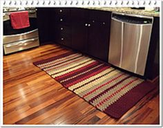 This rug can be made narrower or wider. It is a very heavy rug. I strongly advise to add an Area Rug Gripper to avoid falls.