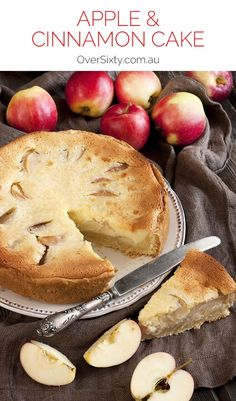 Apple and Cinnamon Cake Recipe - This recipe is really simple, but perfect for a special occasion, or just a treat at afternoon tea time. And then again at dessert...