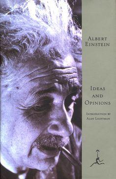 Ideas & Opinions by Albert Einstein | PenguinRandomHouse.com  Amazing book I had to share from Penguin Random House