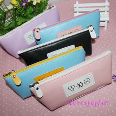 EXO EXO-M EXO-K Miracles in December NEW PENCIL CASE KPOP #KPOPFANMADE