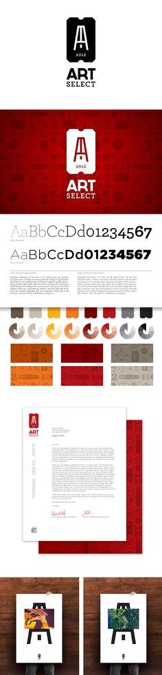 ArtSelect Identity & Branding