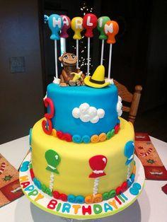 Birthday Cakes - Curious George Cake...
