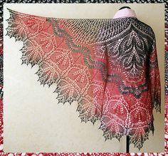 Alberta Shawl by Anne-Lise Maigaard, knitting pattern