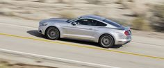 The iconic Mustang—with its classic pony-car looks and hunkered-down stance—preserves a legacy that defines American motoring. A 300-hp 3.7-liter V-6, a 310-hp 2.3-liter turbo four-cylinder, and a 435-hp 5.0-liter V-8 are all offered with a six-speed manual or six-speed automatic. An independent rear suspension improves its ride and provides better cornering. In either coupe or convertible form, the Mustang appeals without compromising its heritage. For 2015, the GT model made our 10Best…