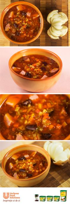 CIORBA DE FASOLE Chili, Soup, Chile, Chilis, Soups, Chowder