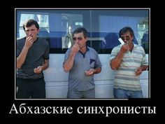 Абхазские синхронисты
