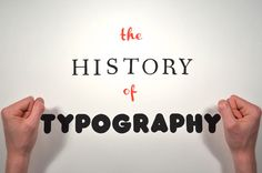 The History of Typography stop-motion animation about fonts by Ben Barrett-Forrest. History Of Typography, Typography Fonts, Presentation Video, Typo Logo, Animation, Best Graphics, Stop Motion, Lettering Design, Art School