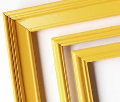 Sunshine yellow frame collection.