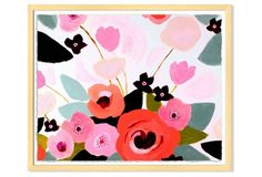 With its atypical palette and graphic composition, this dynamic, modern floral work from Katy Smail has serious staying power. Printed on watercolor paper with deckled edges, this piece is...