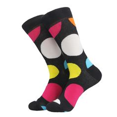Novelty big dots cotton socks Avaliable in 3 colors · One pair · Novelty Socks, Cotton Socks, Winter Collection, Business Casual, Perfect Fit, Polka Dots, Men Casual, Stockings, Pairs