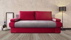 canapea extensibila, conceputa pentru dormit zilnic, prevazuta cu lada pentru depozitare. Sofa, Couch, Love Seat, Furniture, Home Decor, Settee, Settee, Decoration Home, Room Decor