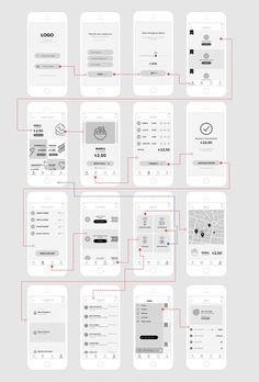 App Design Options In Basement Ios App Design, Mobile Ui Design, User Interface Design, App Wireframe, Wireframe Design, Application Mobile, Application Design, Persona Design, Mobiles Webdesign