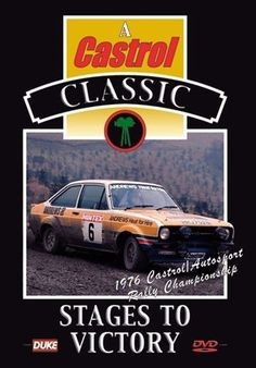 Stages of Victory (New DVD) 1976 Castrol Autosport Rally Championship Also available from our website at www.sonusmedia.co.uk