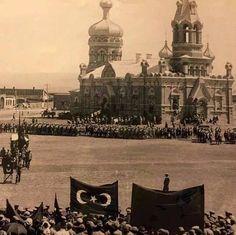Kars, Alexander Nevsky Rus Katedrali 1930 Günümüzde Fethiye Camii olan yapının soğan kubbeleri 1960 yılında yıktırıldı.